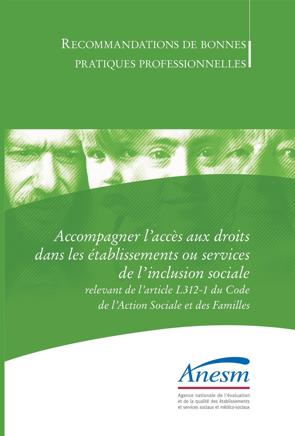 établissements ou services de l inclusion sociale