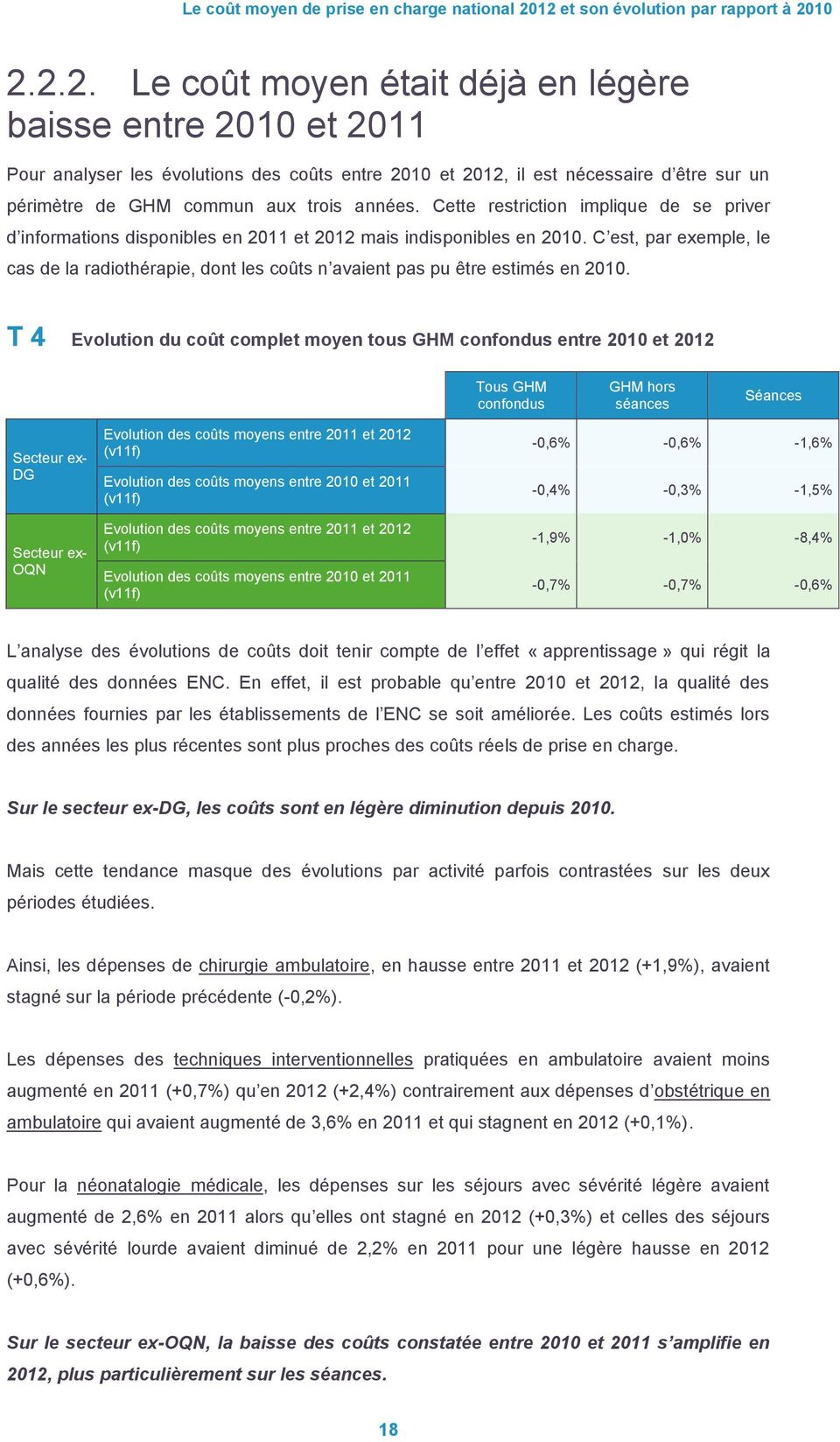 Cette restriction implique de se priver d informations disponibles en 2011 et 2012 mais indisponibles en 2010.