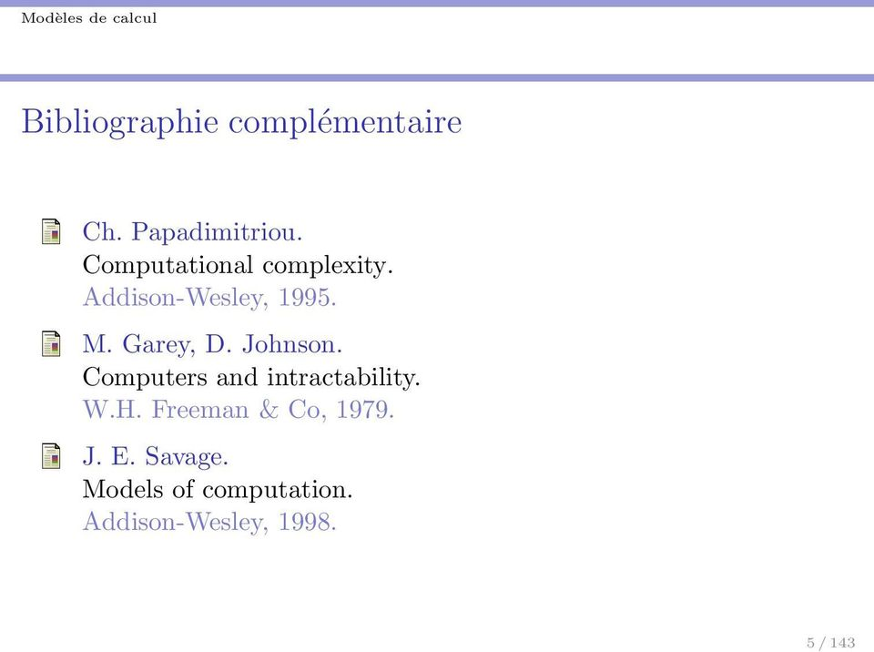 Johnson. Computers and intractability. W.H.