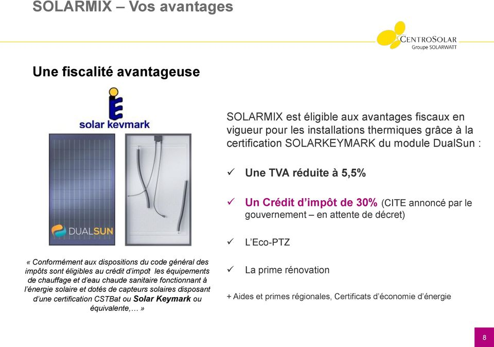 innovation centrosolar solarmix d couvrez le solaire 2 en 1 janvier pdf. Black Bedroom Furniture Sets. Home Design Ideas