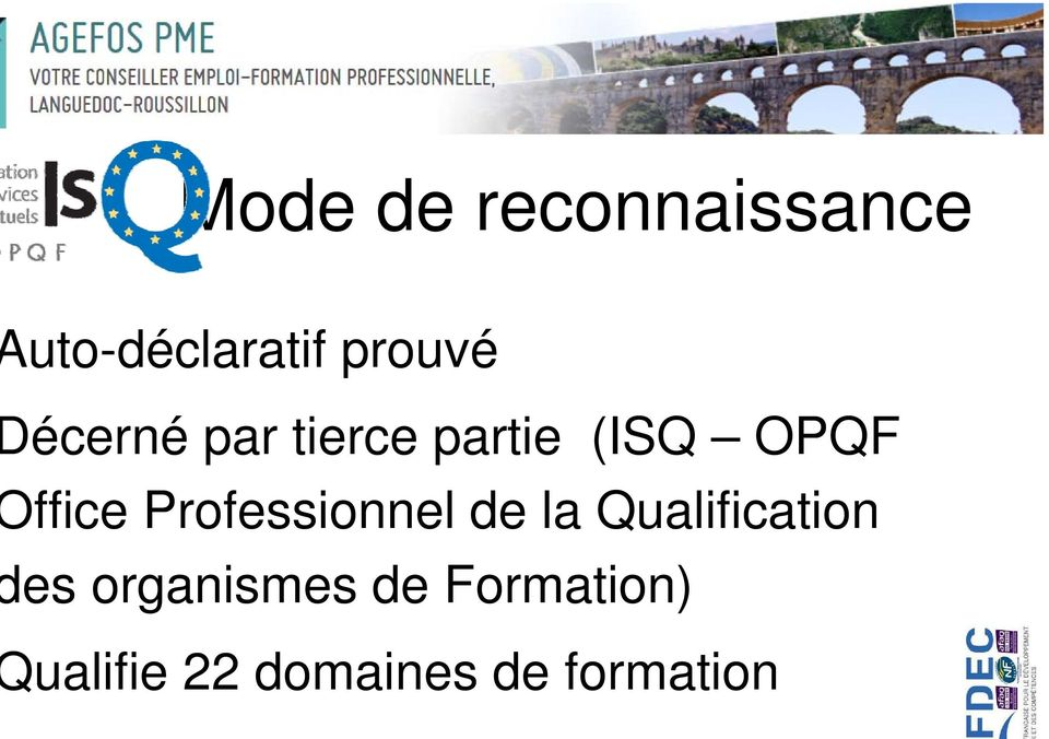 Professionnel de la Qualification es