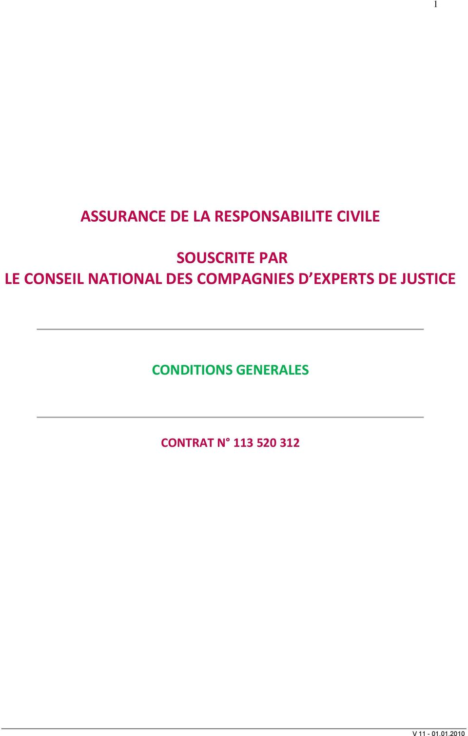 NATIONAL DES COMPAGNIES D EXPERTS DE