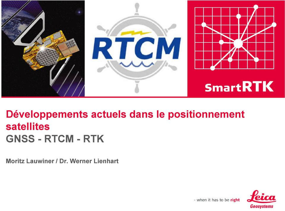 satellites GNSS - RTCM -