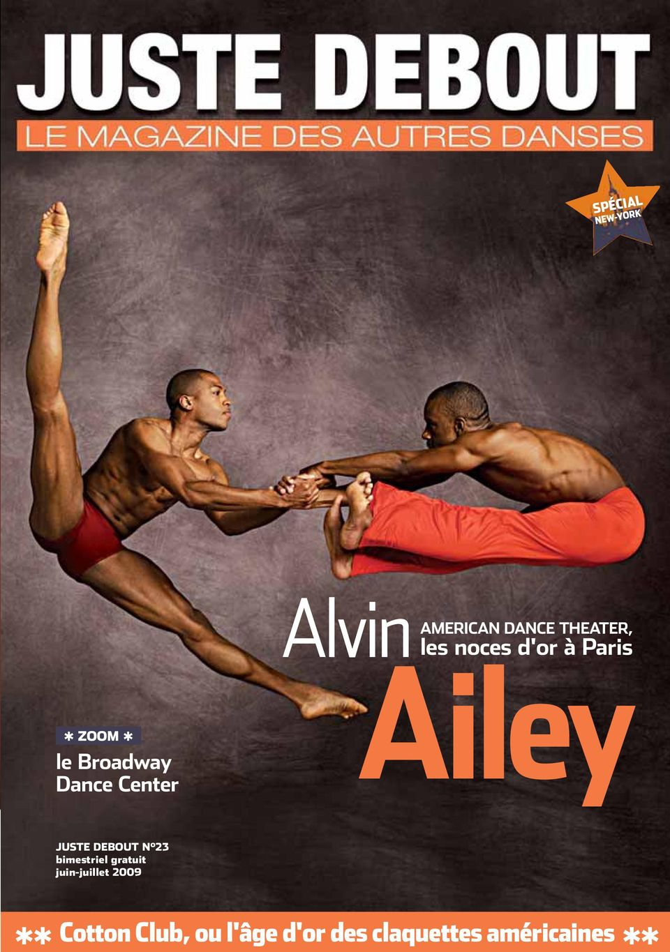Dance Center Alvin AMERICAN Ailey DANCE THEATER, les