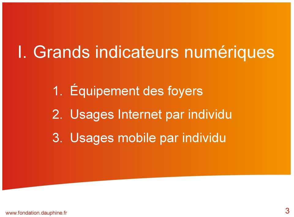 Usages Internet par individu 3.