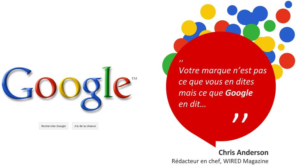 Google,, en dit Chris Anderson