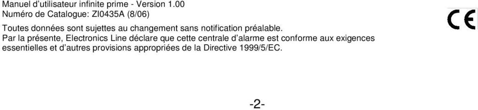 sans notification préalable.