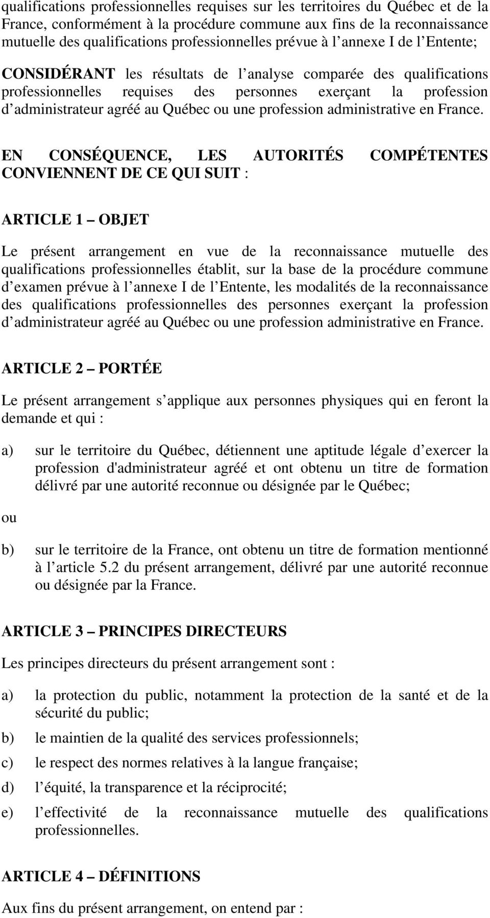 une profession administrative en France.