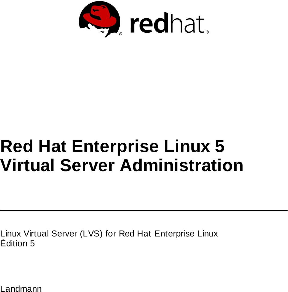 Linux Virtual Server (LVS) for