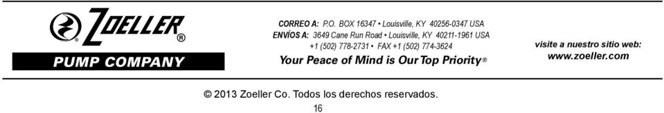 (502) 774-3624 Your Peace of Mind is Our Top Priority visite a nuestro