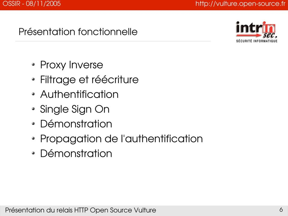 Authentification Single Sign On
