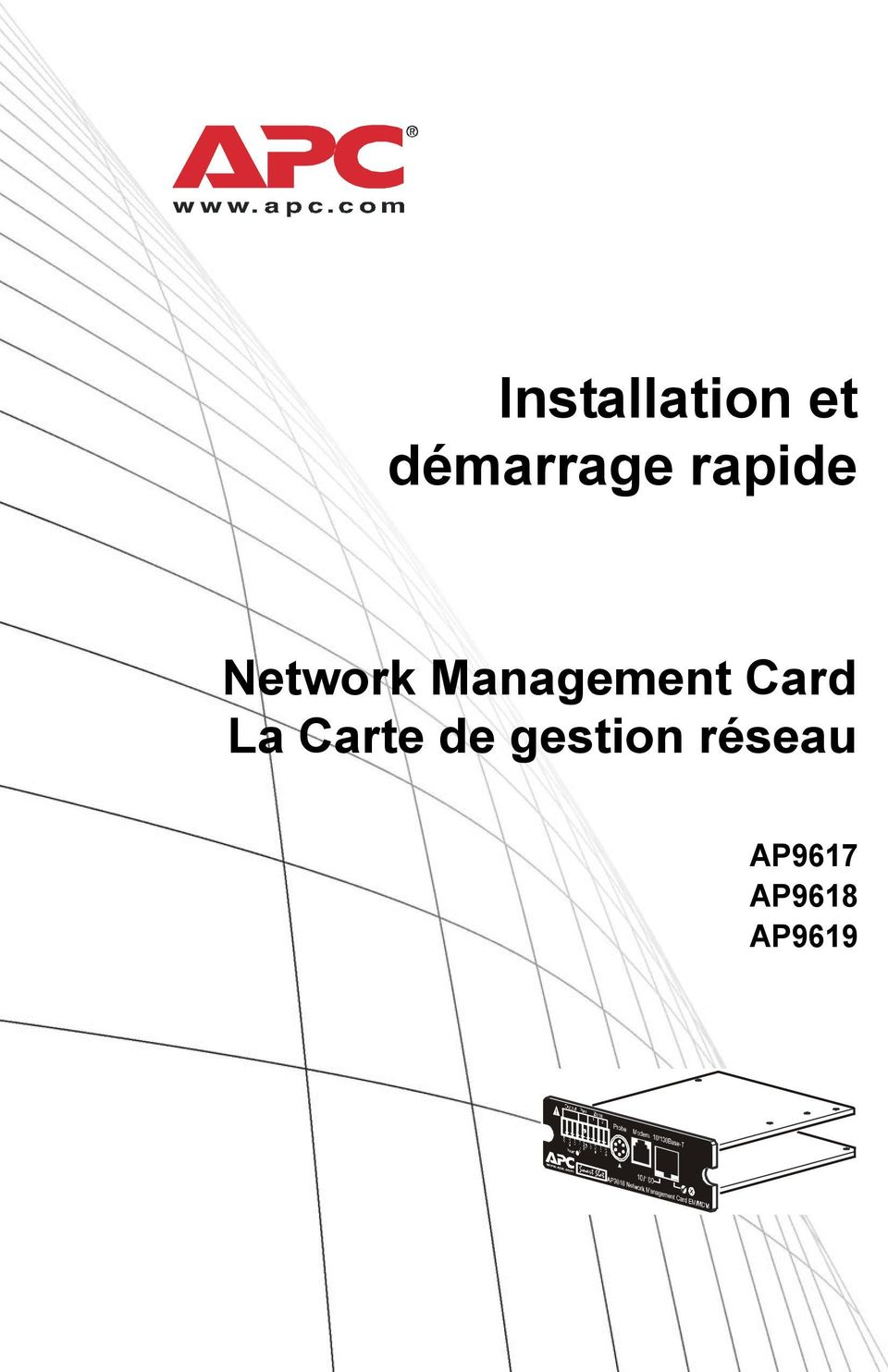 Card La Carte de gestion