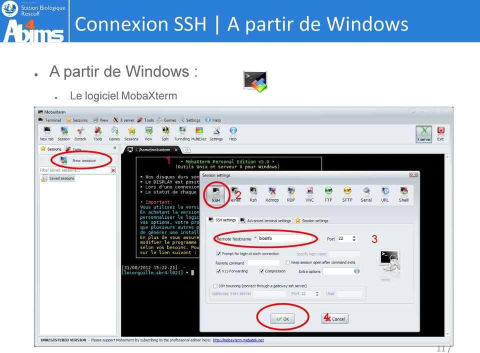 Windows : Le logiciel