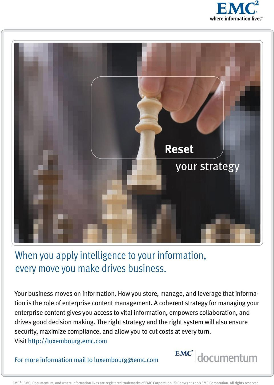 A coherent strategy for managing your enterprise content gives you access to vital information, empowers collaboration, and drives good decision making.