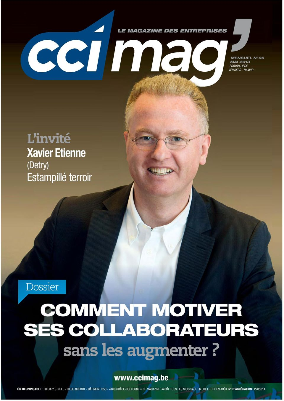COLLABORATEURS sans les augmenter? www.ccimag.be ÉD.