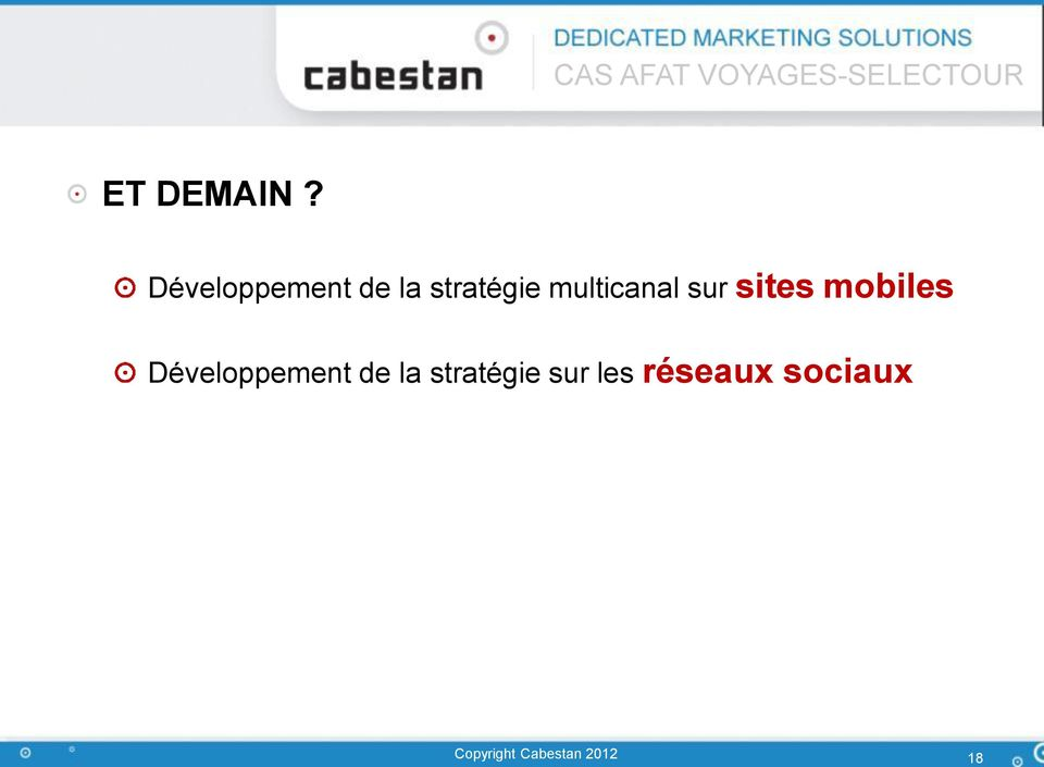 multicanal sur sites mobiles
