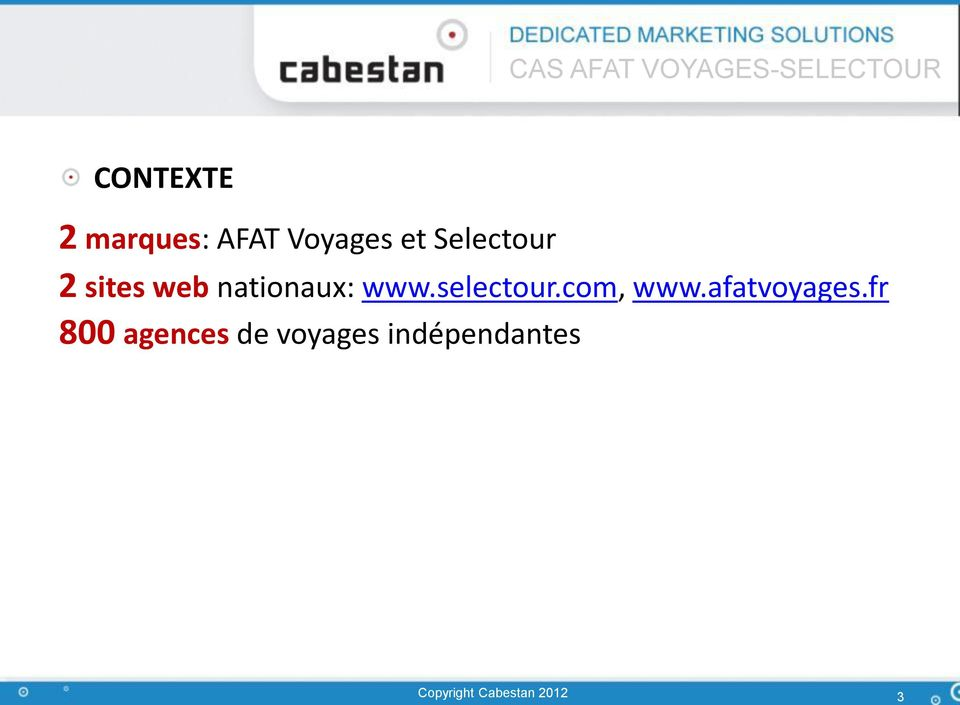 selectour.com, www.afatvoyages.