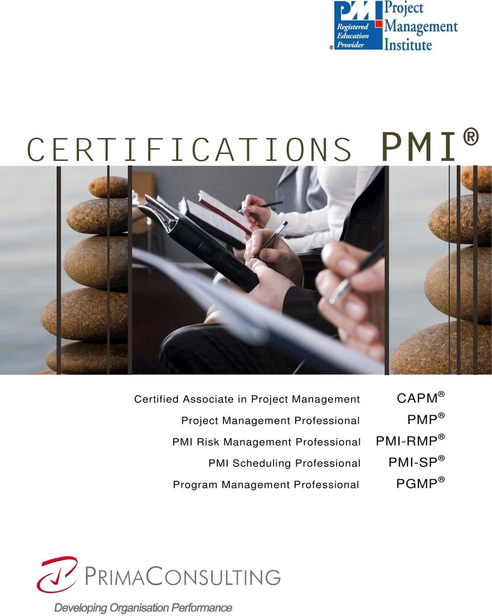 Management PMP PMI Risk Management