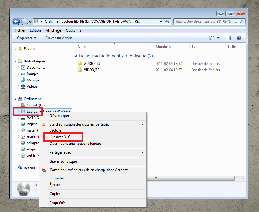 Ouvrez l Explorateur Windows (Windows Explorer) 1.