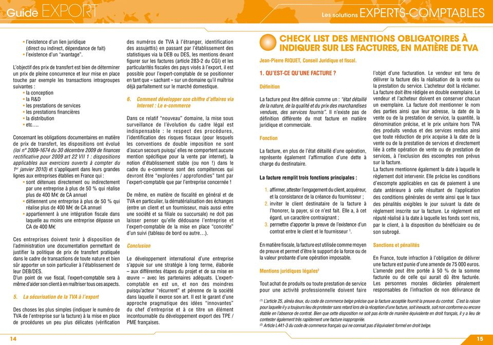 prestations de services les prestations fi nancières la distribution etc.