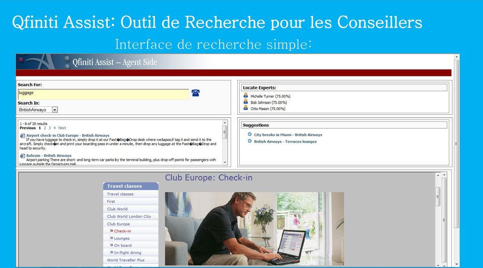 Conseillers Interface