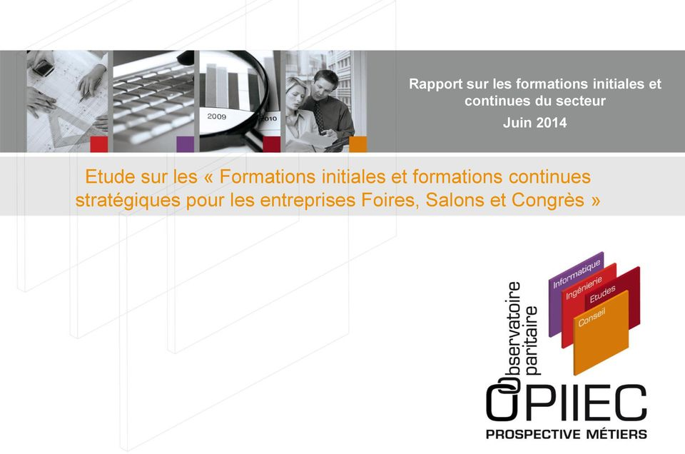 «Formations initiales et formations continues