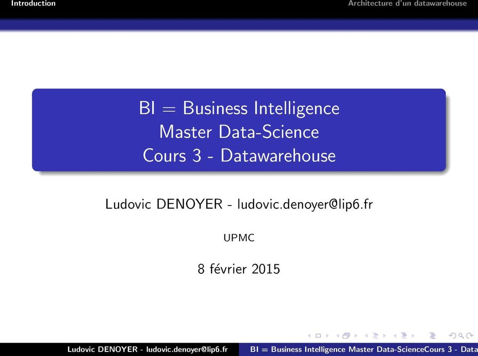Data-Science Cours 3 -