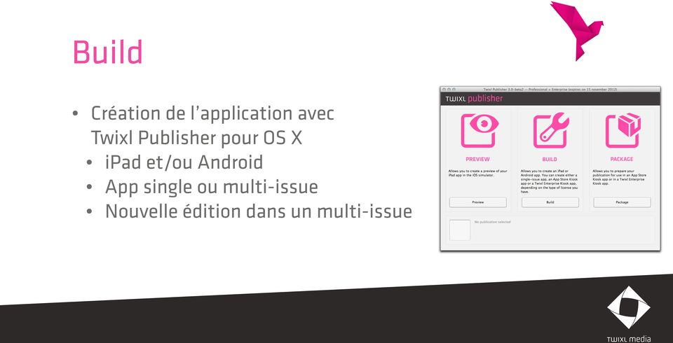et/ou Android App single ou