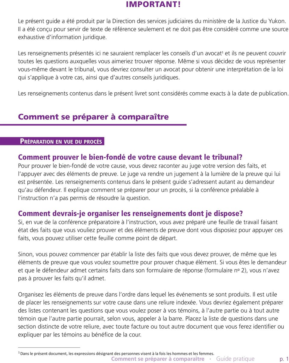Comment se pr parer compara tre pdf - Comment obtenir un avocat commis d office ...