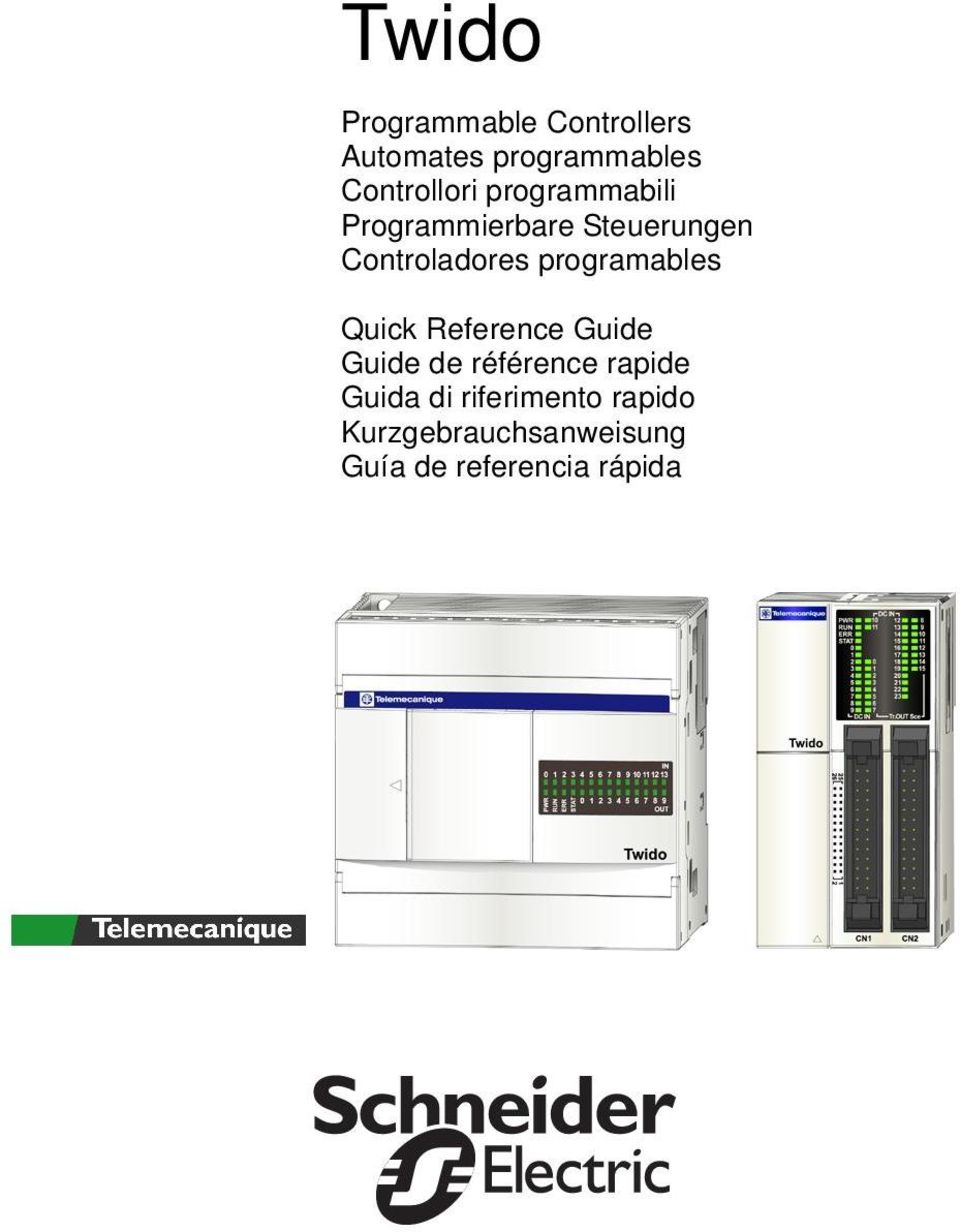 Controladores programables Quick Reference Guide Guide de
