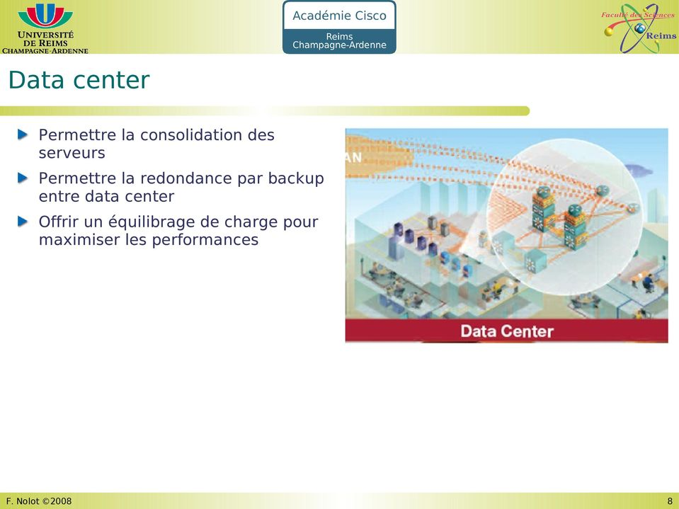 entre data center Offrir un équilibrage de