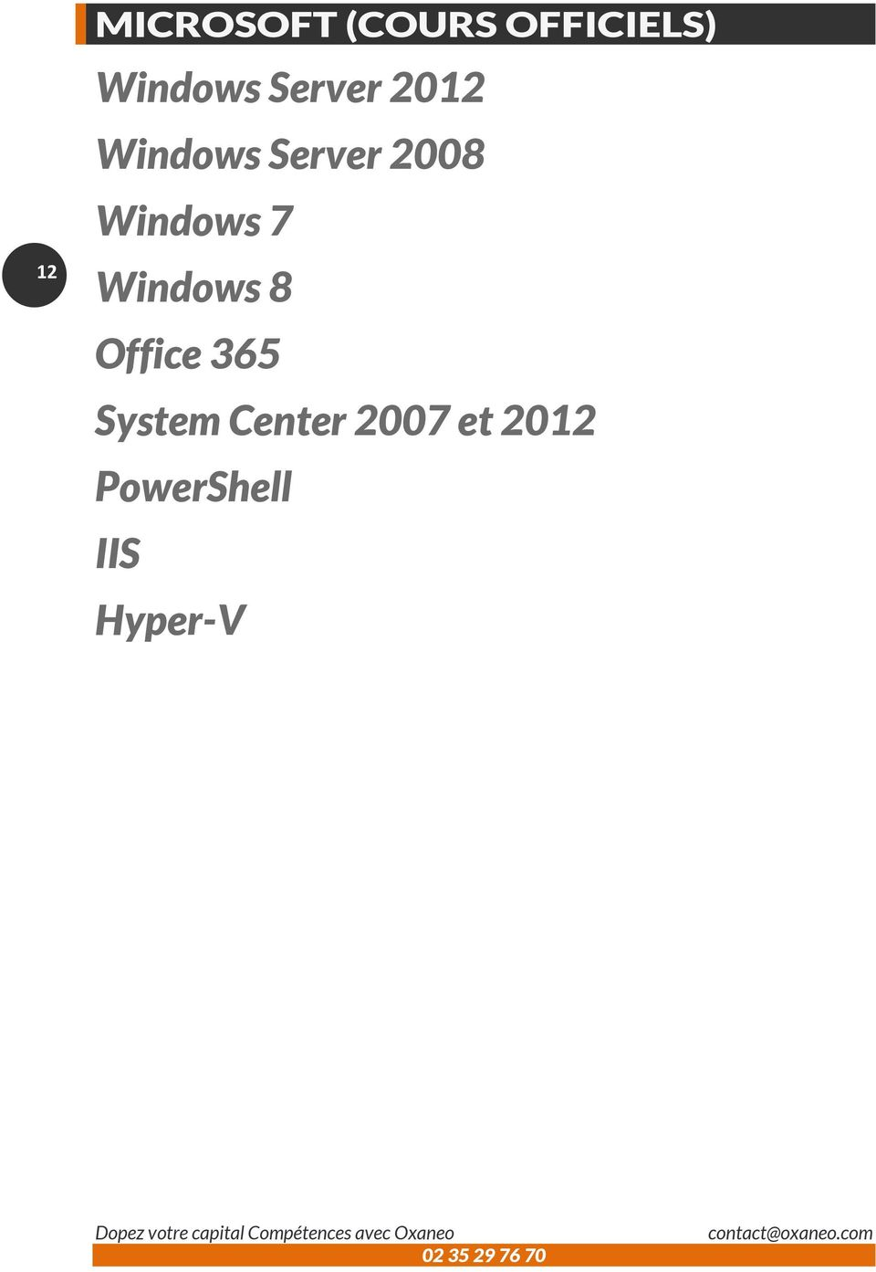 8 Office 365 System Center