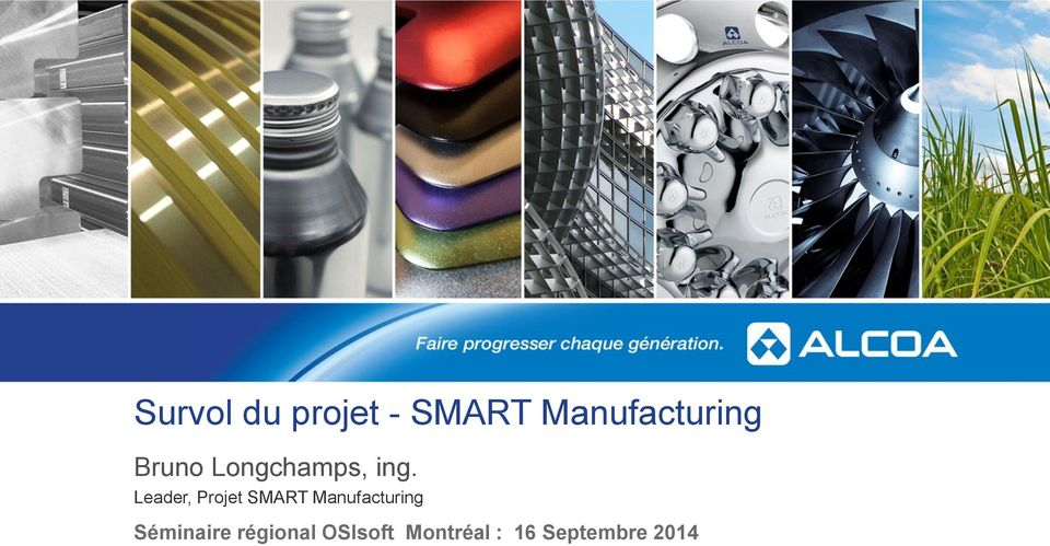 Leader, Projet SMART Manufacturing