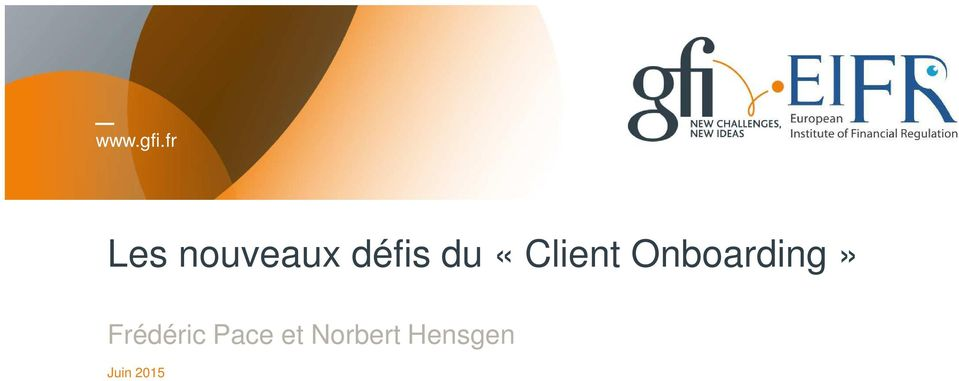 «Client Onboarding»