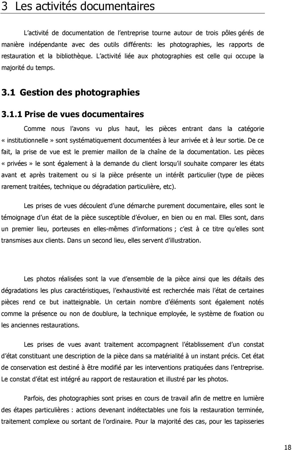 Gestion des photographies 3.1.