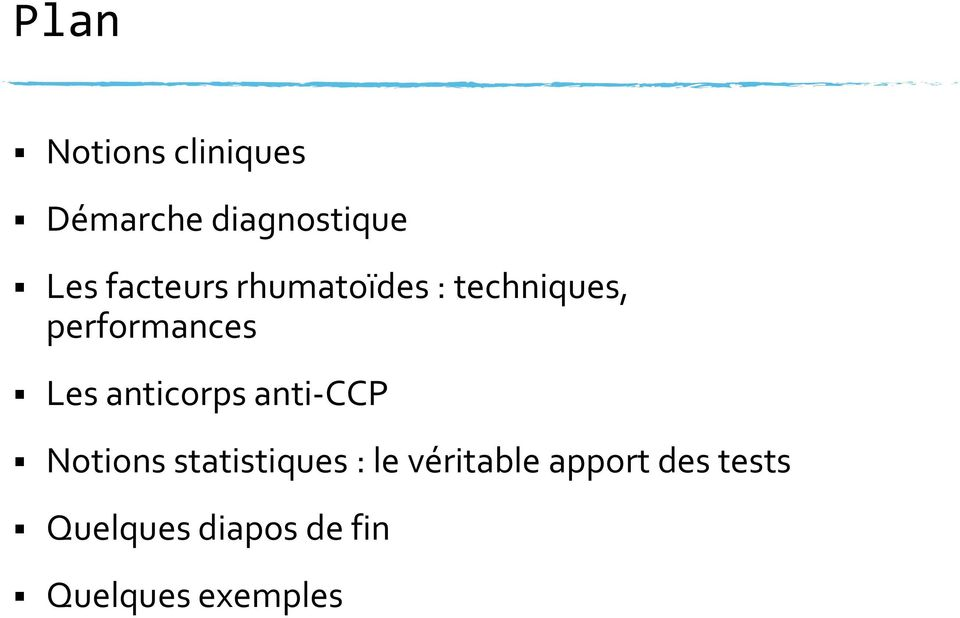 anticorps anti-ccp Notions statistiques : le