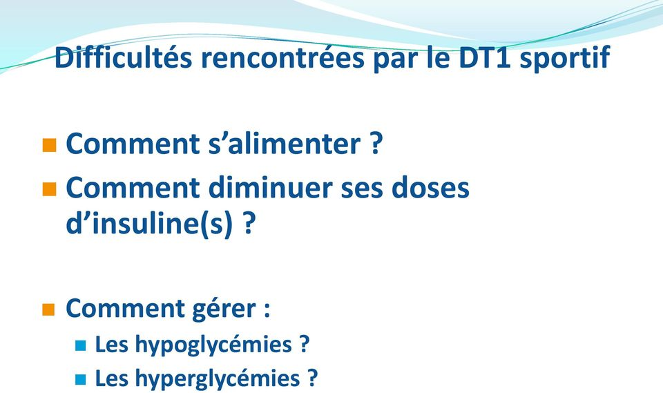 Comment diminuer ses doses d