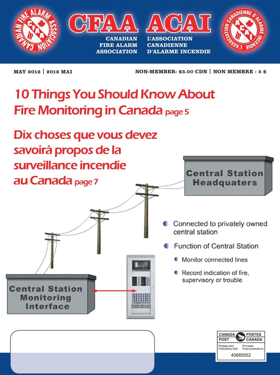 About Fire Monitoring in Canada page 5 Dix choses