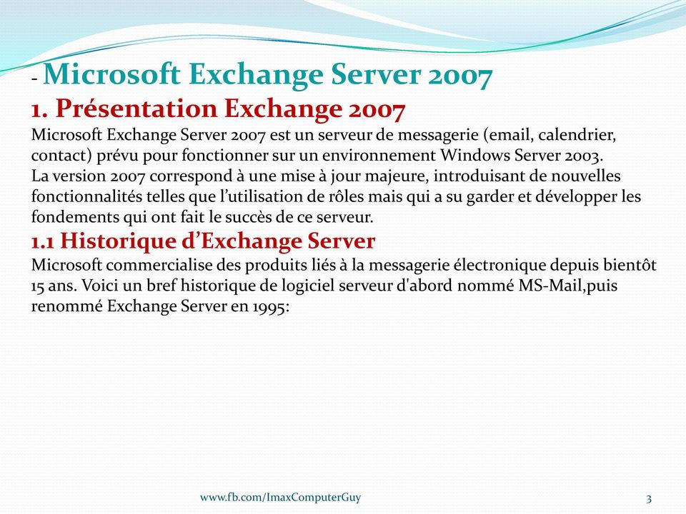 Windows Server 2003.