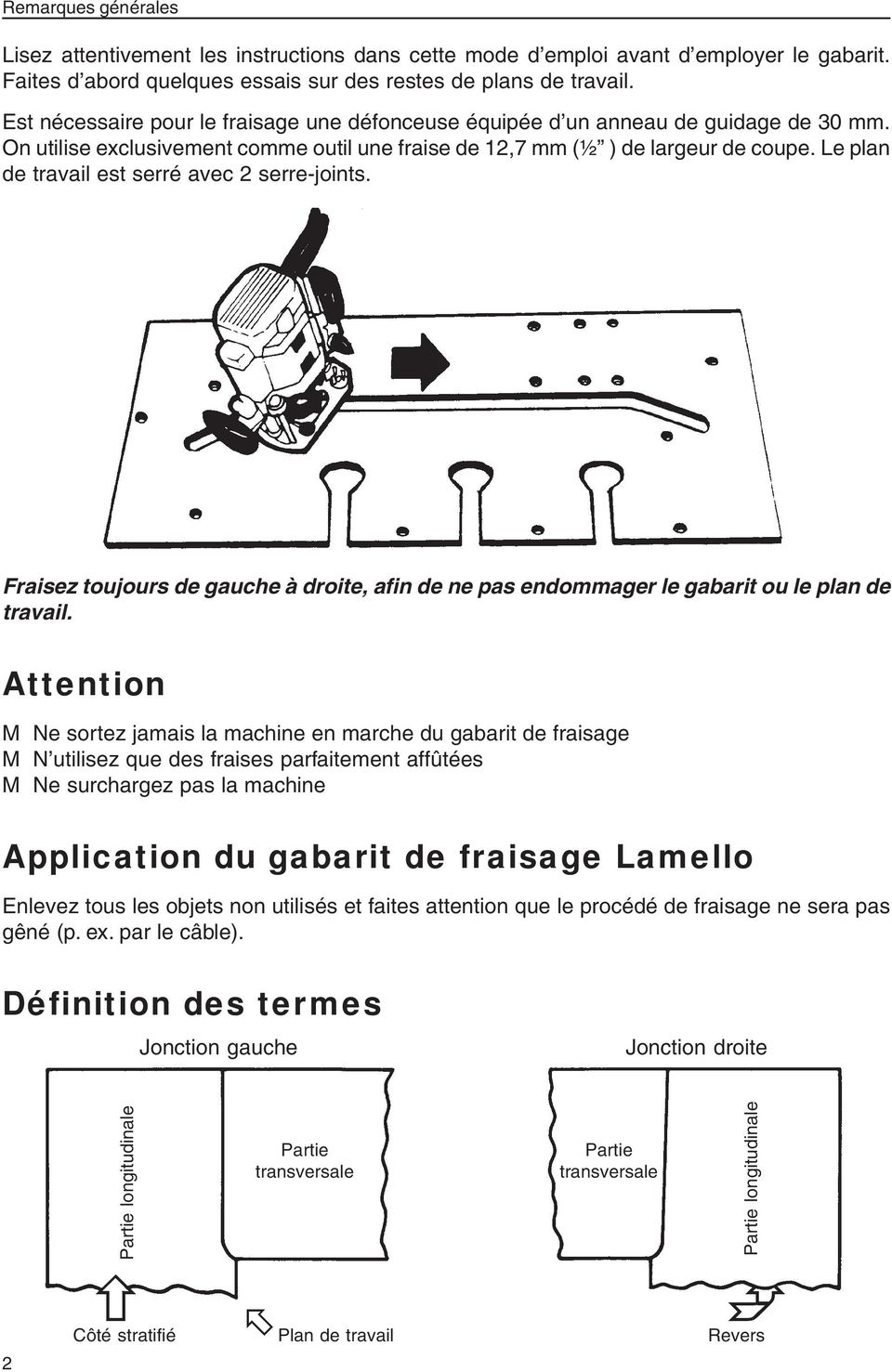 gabarit de fraisage lamello pdf. Black Bedroom Furniture Sets. Home Design Ideas