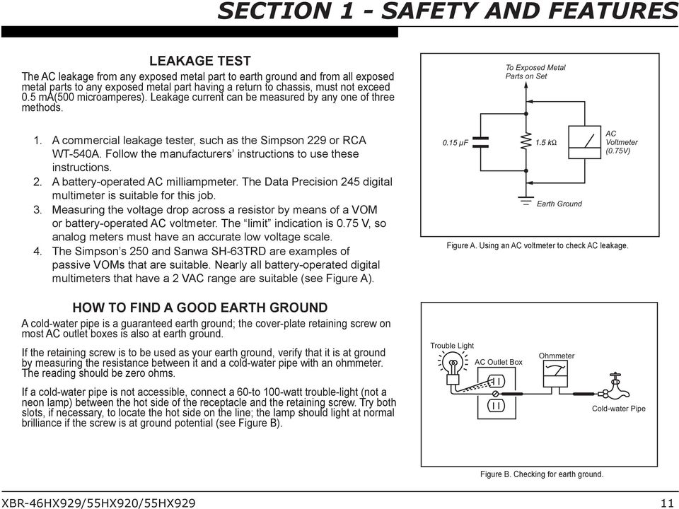 Follow the manufacturers instructions to use these instructions. 2. A battery-operated AC milliampmeter. The Data Precision 245 digital multimeter is suitable for this job. 3.