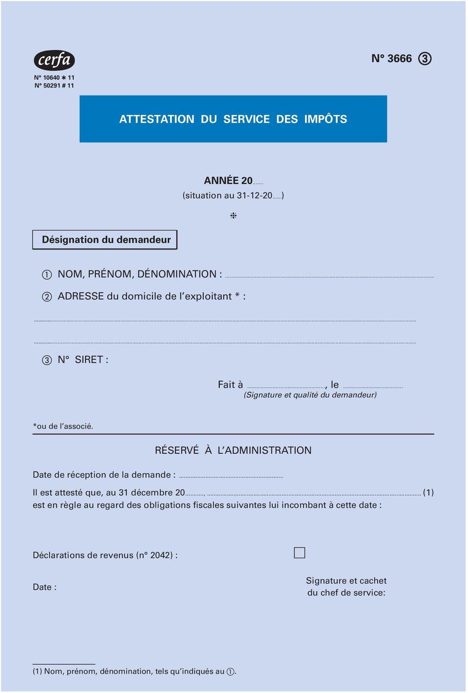 Attestation de r gularit fiscale pdf - Attestation tva 5 5 ...