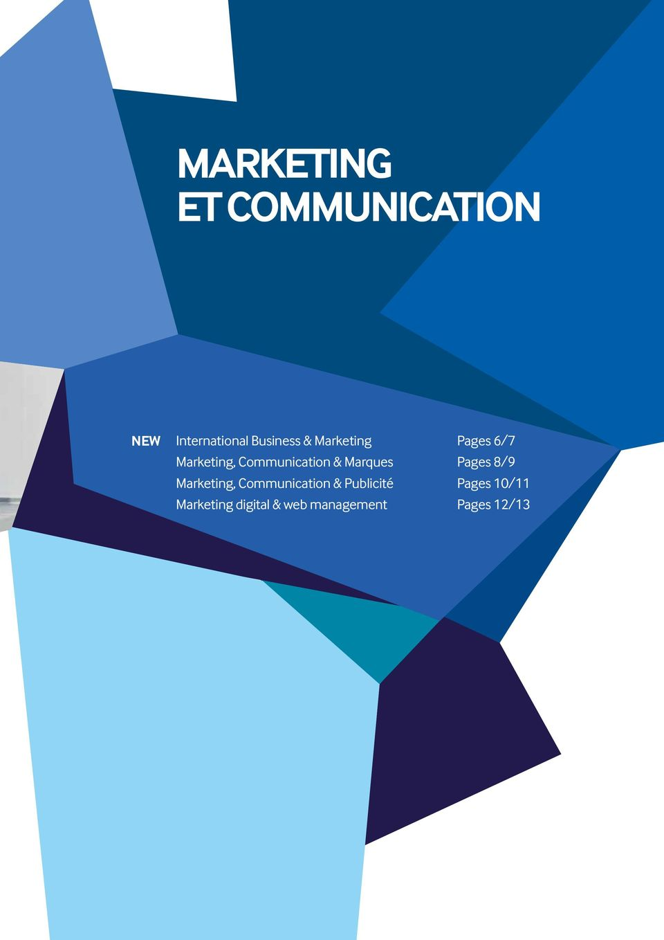 Marques Pages 8/9 Marketing, Communication &