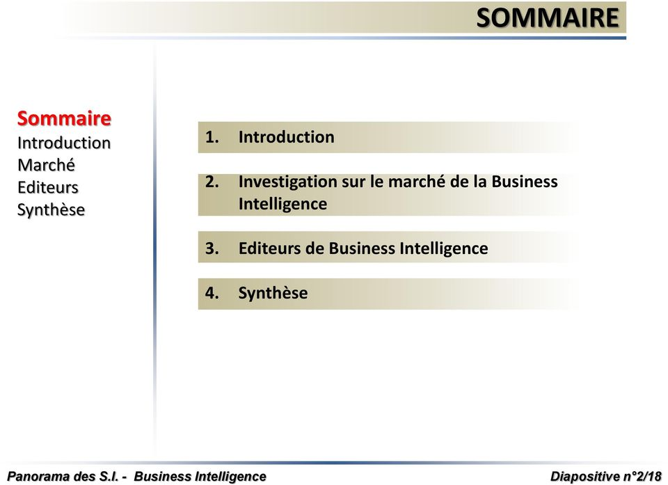 la Business Intelligence 3.