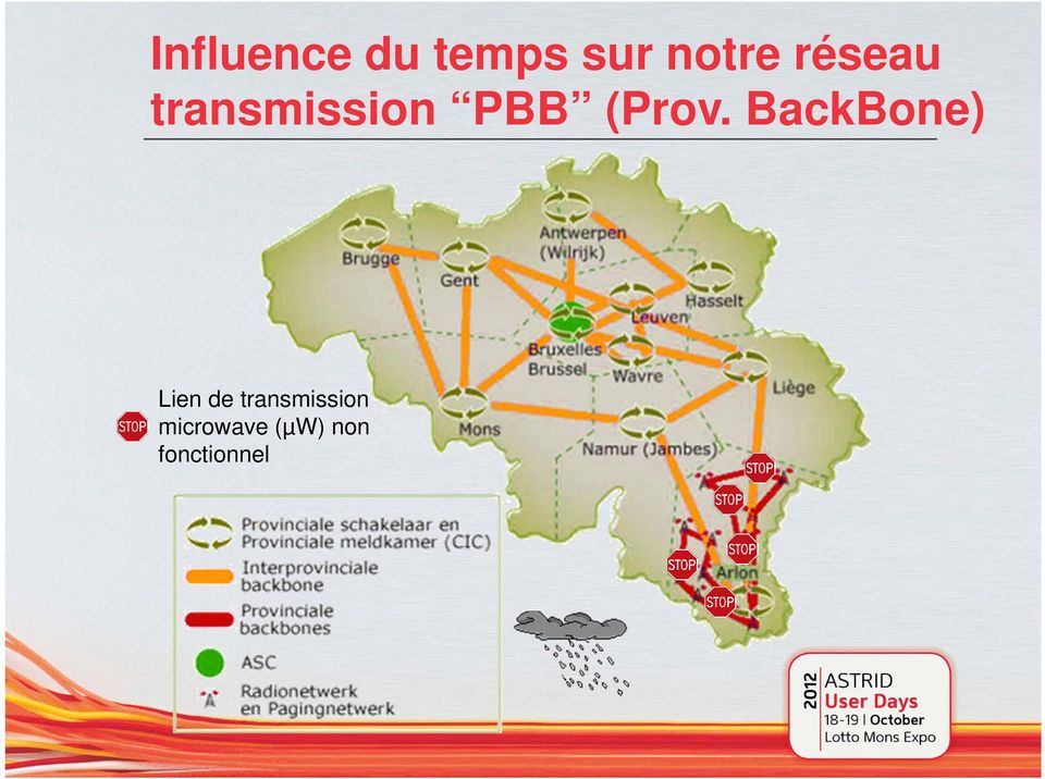 BackBone) Lien de transmission