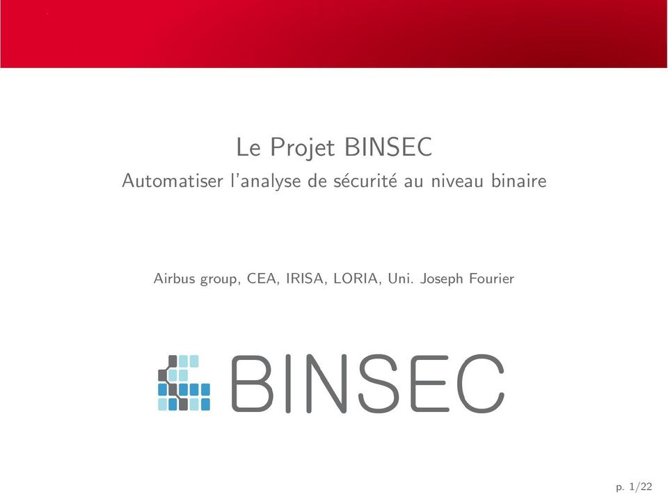 binaire Airbus group, CEA,