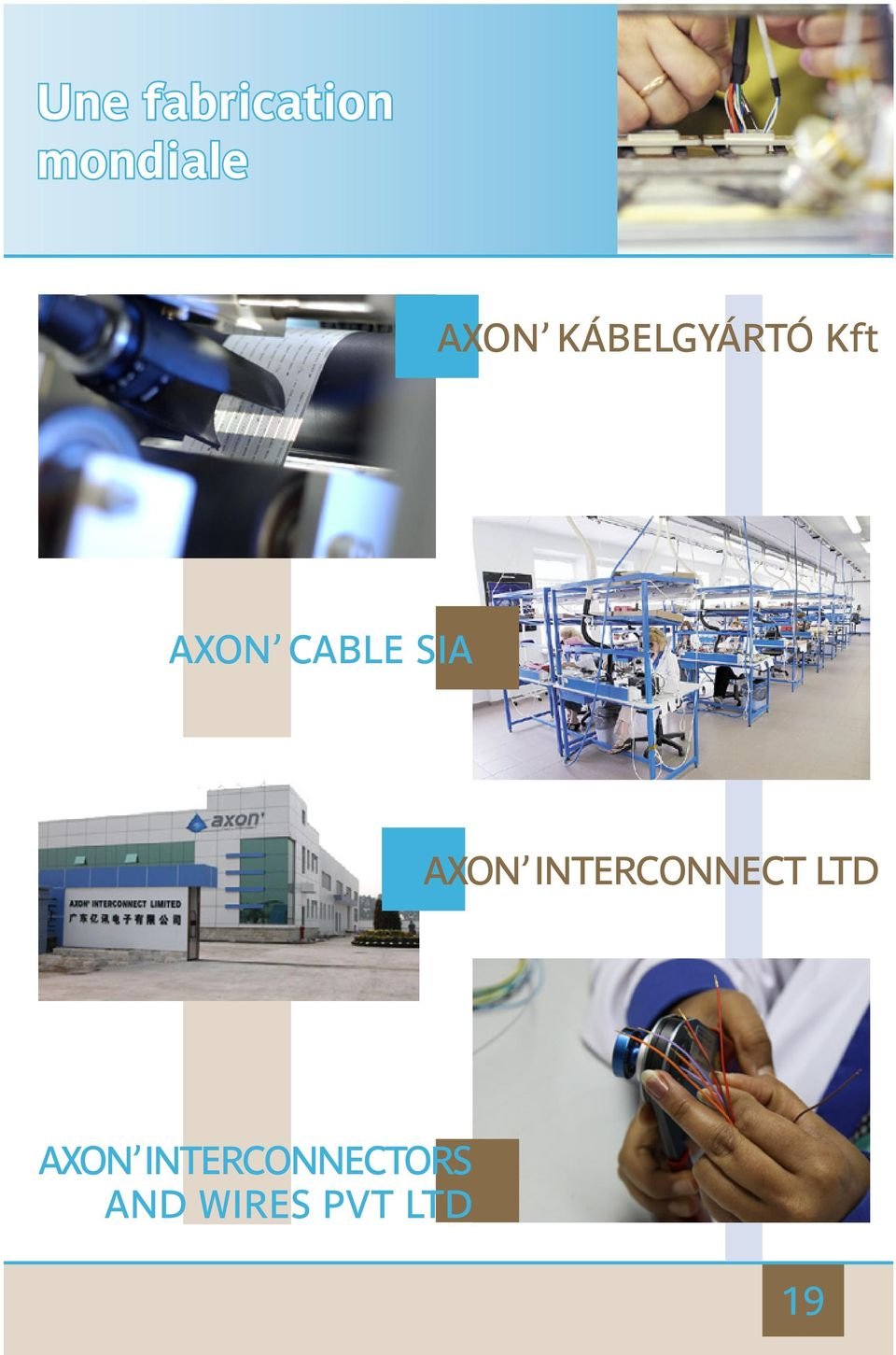 AXON INTERCONNECT LTD AXON