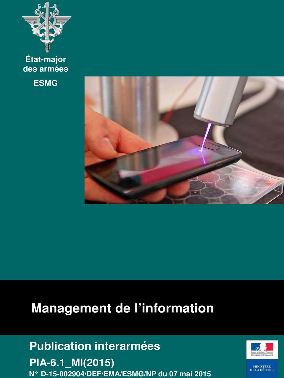 1 (PROV) ESMG Management de l information