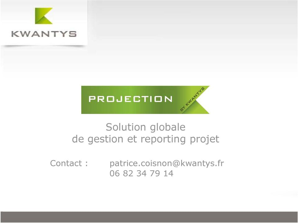 projet Contact : patrice.