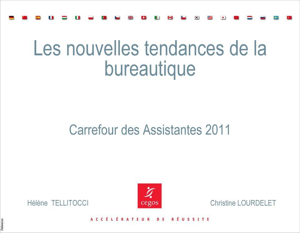 Carrefour des Assistantes
